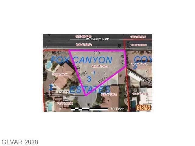 1860 Fox Canyon Circle, Las Vegas, NV 89117 (MLS #2163571) :: The Lindstrom Group