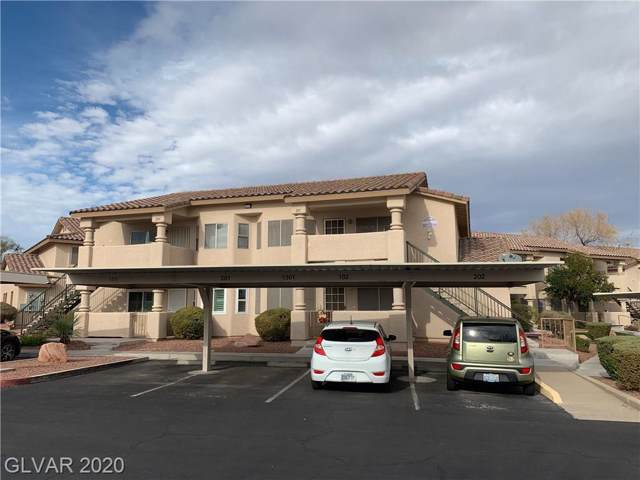 1309 Markwood #201, Las Vegas, NV 89128 (MLS #2163777) :: Performance Realty