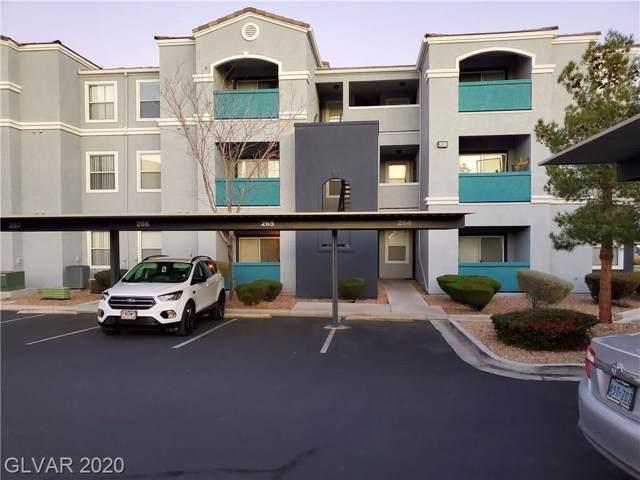 6955 Durango #1031, Las Vegas, NV 89149 (MLS #2163805) :: Performance Realty