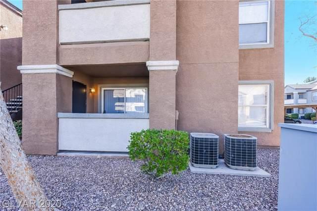 555 Silverado Ranch #1156, Las Vegas, NV 89183 (MLS #2163919) :: Performance Realty
