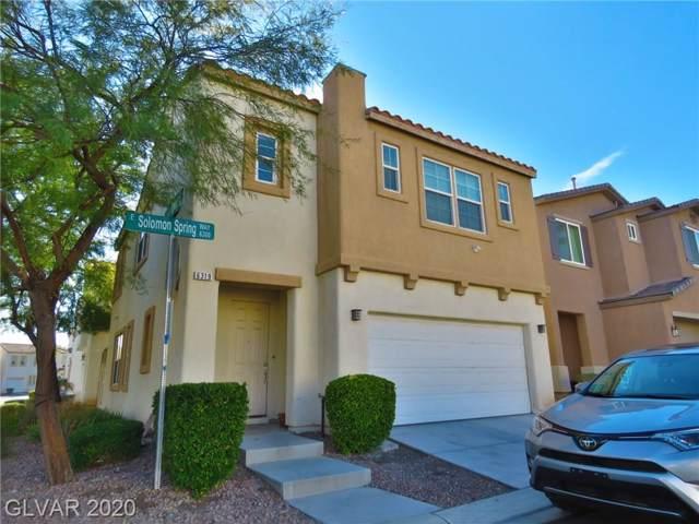 6319 Solomon Spring, Las Vegas, NV 89122 (MLS #2164005) :: Signature Real Estate Group