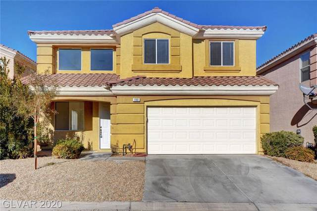 190 Flying Hills, Las Vegas, NV 89148 (MLS #2164564) :: Brantley Christianson Real Estate