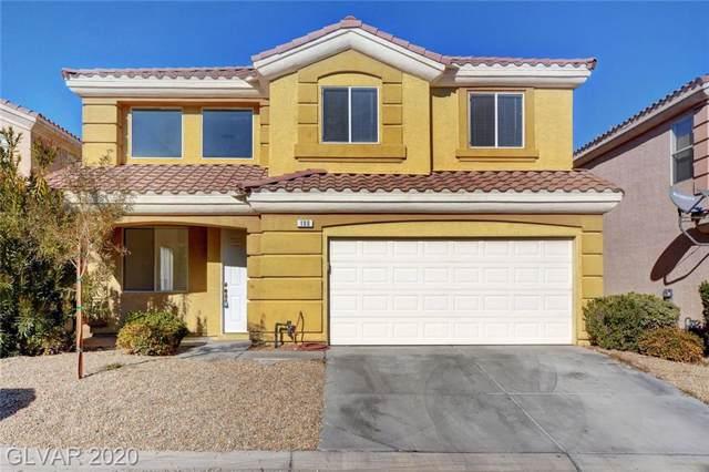 190 Flying Hills Avenue, Las Vegas, NV 89148 (MLS #2164564) :: Signature Real Estate Group