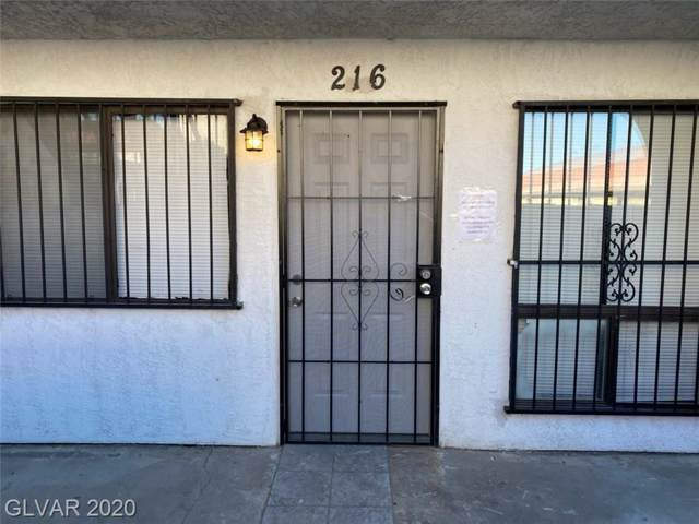 4300 Lamont #216, Las Vegas, NV 89115 (MLS #2164637) :: Hebert Group | Realty One Group