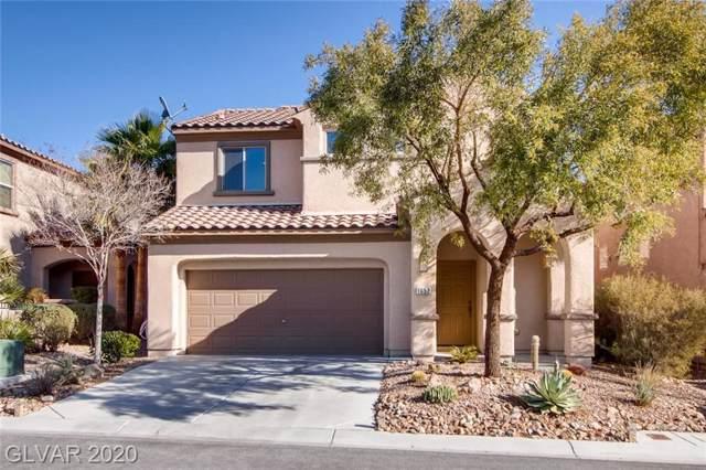 1052 Calvia, Las Vegas, NV 89138 (MLS #2164684) :: Brantley Christianson Real Estate