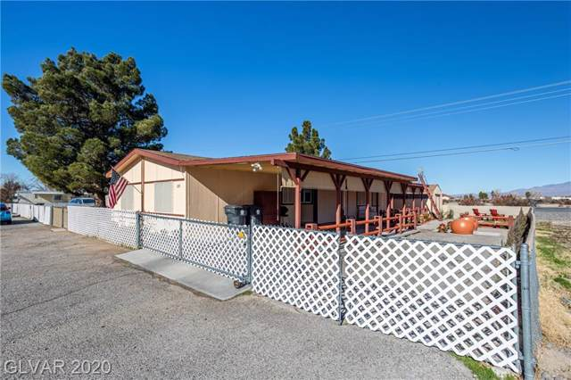 230 W Comstock, Pahrump, NV 89048 (MLS #2164954) :: Performance Realty