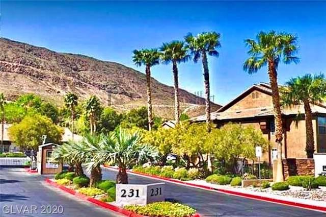231 Horizon Ridge #715, Henderson, NV 89012 (MLS #2165007) :: Hebert Group | Realty One Group