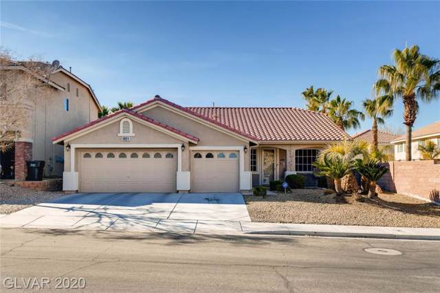 981 Gold Bear, Henderson, NV 89052 (MLS #2165403) :: Signature Real Estate Group