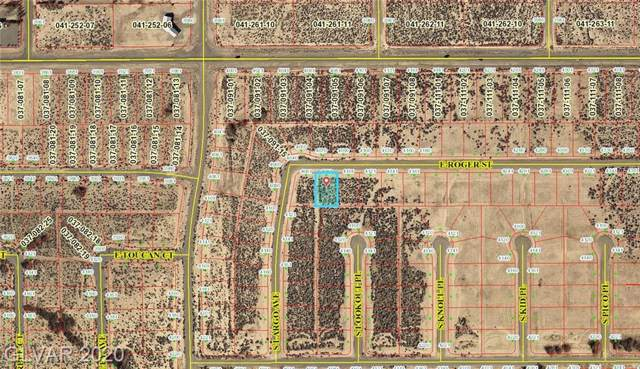 4081 E Roger, Pahrump, NV 89048 (MLS #2166067) :: Signature Real Estate Group