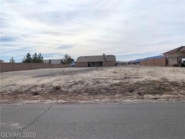 4861 E Ridgewood, Pahrump, NV 89061 (MLS #2166684) :: Signature Real Estate Group