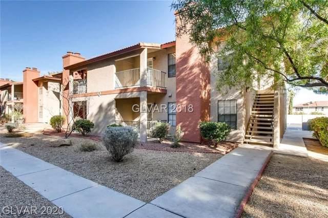5576 W Rochelle 19D, Las Vegas, NV 89103 (MLS #2166732) :: Trish Nash Team