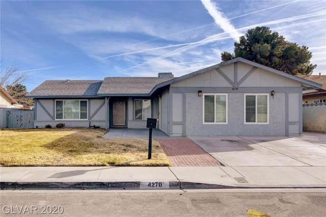 4270 Carolyn, Las Vegas, NV 89103 (MLS #2166764) :: Signature Real Estate Group