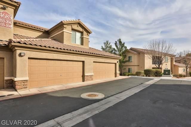 4685 Apulia #104, North Las Vegas, NV 89084 (MLS #2166927) :: Hebert Group | Realty One Group