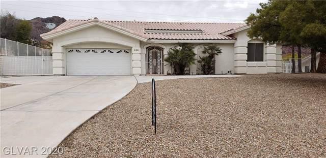 626 Valencia, Boulder City, NE 89005 (MLS #2166950) :: Signature Real Estate Group