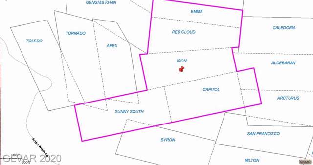 0 Aztec Wash Road, Searchlight, NV 89046 (MLS #2166964) :: The Lindstrom Group