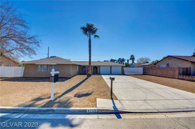 4759 Chicago Avenue, Las Vegas, NV 89104 (MLS #2167064) :: The Lindstrom Group