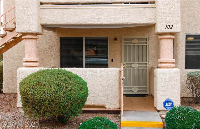 7944 Calico Vista #102, Las Vegas, NV 89128 (MLS #2167068) :: Hebert Group | Realty One Group