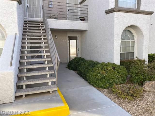 3150 Soft Breezes #1033, Las Vegas, NV 89128 (MLS #2167096) :: Hebert Group | Realty One Group