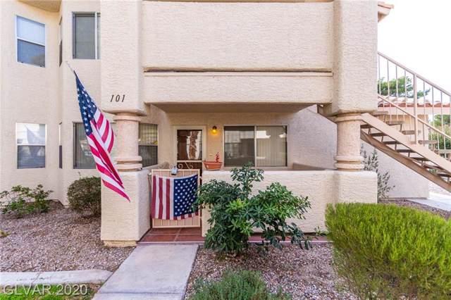 1317 Pinto Rock #101, Las Vegas, NV 89128 (MLS #2167102) :: Signature Real Estate Group