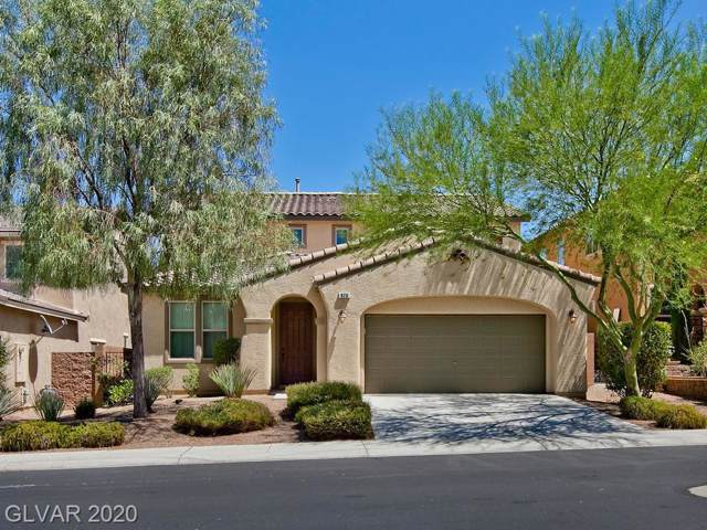 820 Fulford, Henderson, NV 89052 (MLS #2167127) :: Signature Real Estate Group