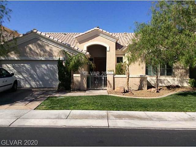 152 Cliff Valley Drive, Las Vegas, NV 89148 (MLS #2167136) :: Performance Realty