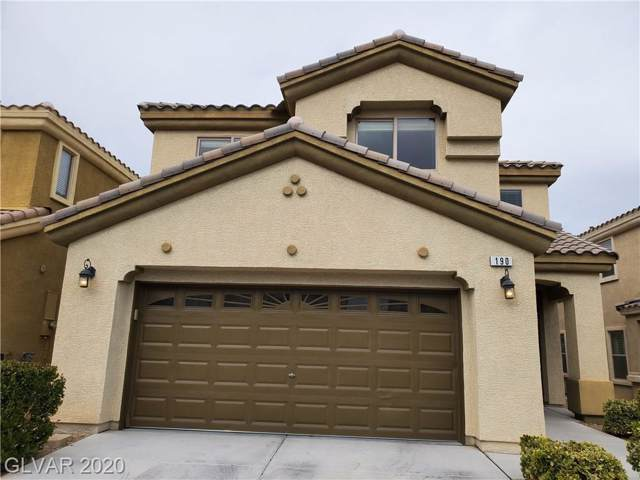 190 Tall Ruff Drive, Las Vegas, NV 89148 (MLS #2167140) :: Signature Real Estate Group