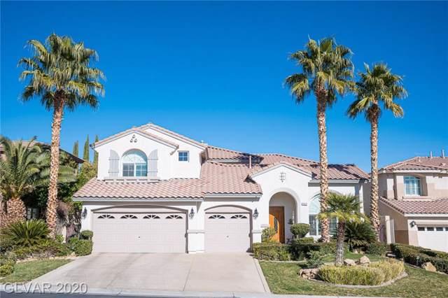 11372 Rancho Portena, Las Vegas, NV 89138 (MLS #2167494) :: Billy OKeefe | Berkshire Hathaway HomeServices