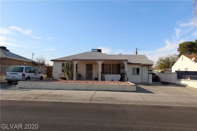 248 Spencer, Las Vegas, NV 89101 (MLS #2167630) :: Hebert Group | Realty One Group