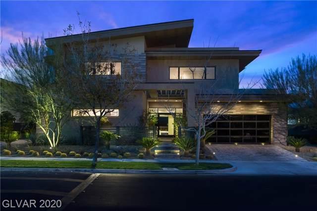 9272 Tournament Canyon Drive, Las Vegas, NV 89144 (MLS #2167893) :: The Lindstrom Group
