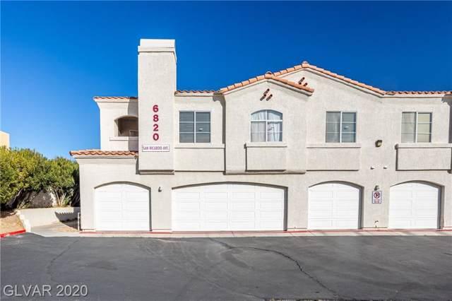 6820 San Ricardo #201, Las Vegas, NV 89146 (MLS #2167919) :: Signature Real Estate Group