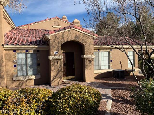 5435 Shay Mountain #102, Las Vegas, NV 89147 (MLS #2167920) :: Vestuto Realty Group