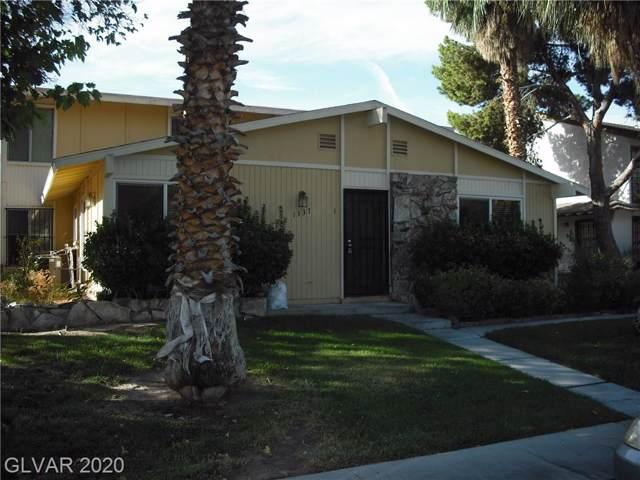 1337 Dorothy #3, Las Vegas, NV 89119 (MLS #2168409) :: Hebert Group | Realty One Group