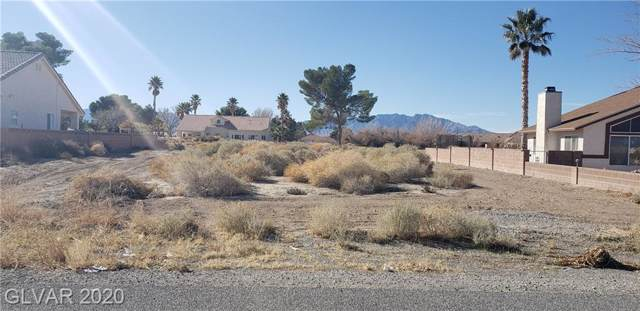 141 E Ironton, Pahrump, NV 89048 (MLS #2168425) :: Trish Nash Team