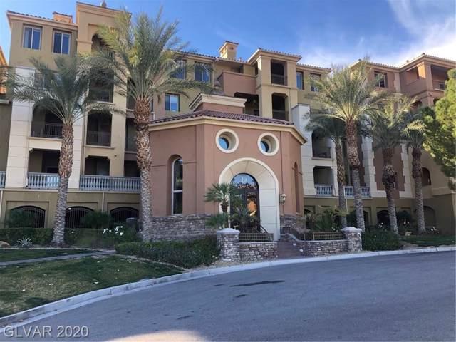 20 Via Mantova #401, Henderson, NV 89011 (MLS #2168479) :: Billy OKeefe | Berkshire Hathaway HomeServices