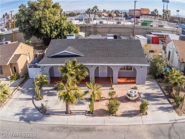 604 4TH, Las Vegas, NV 89101 (MLS #2168504) :: Hebert Group | Realty One Group