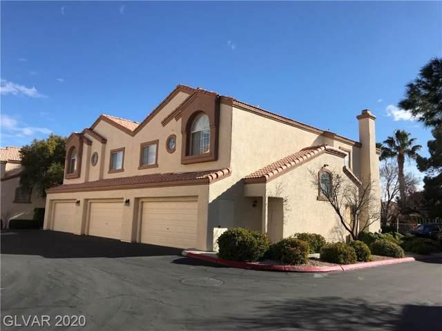 8301 Boseck #109, Las Vegas, NV 89145 (MLS #2168561) :: Hebert Group | Realty One Group