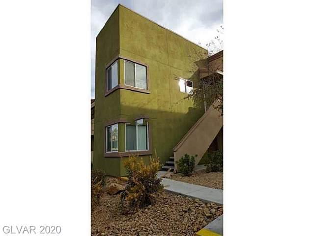 1822 Decatur #102, Las Vegas, NV 89108 (MLS #2168647) :: Signature Real Estate Group