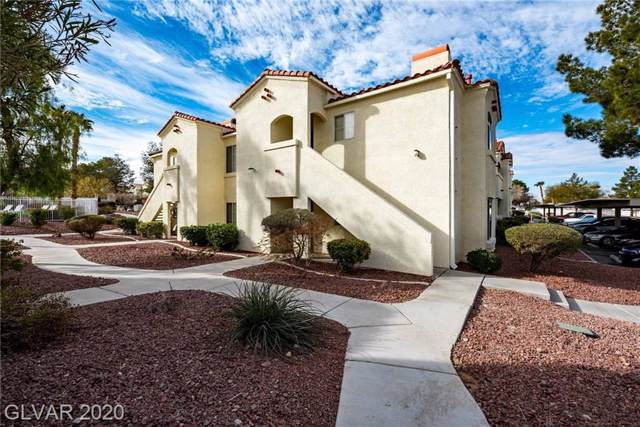 698 Racetrack #421, Henderson, NV 89015 (MLS #2168703) :: Trish Nash Team