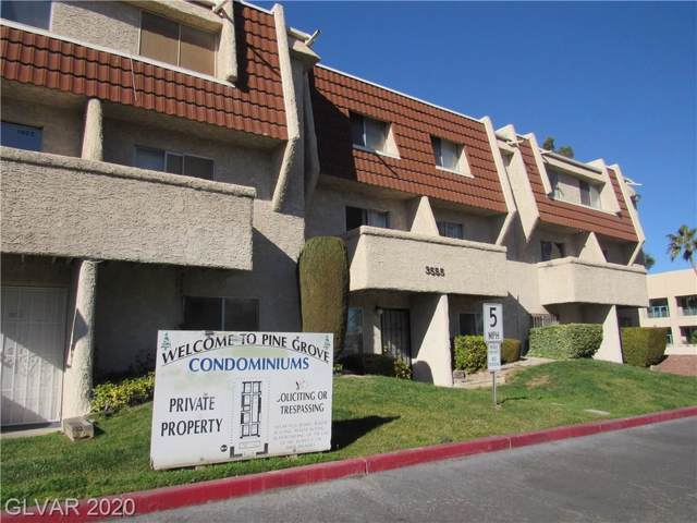 3555 Arville Street 104B, Las Vegas, NV 89103 (MLS #2168729) :: The Perna Group