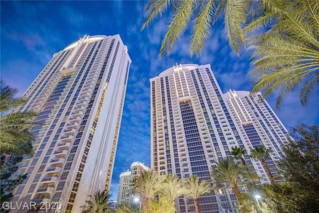 135 E Harmon Avenue #2721, Las Vegas, NV 89109 (MLS #2168888) :: The Perna Group