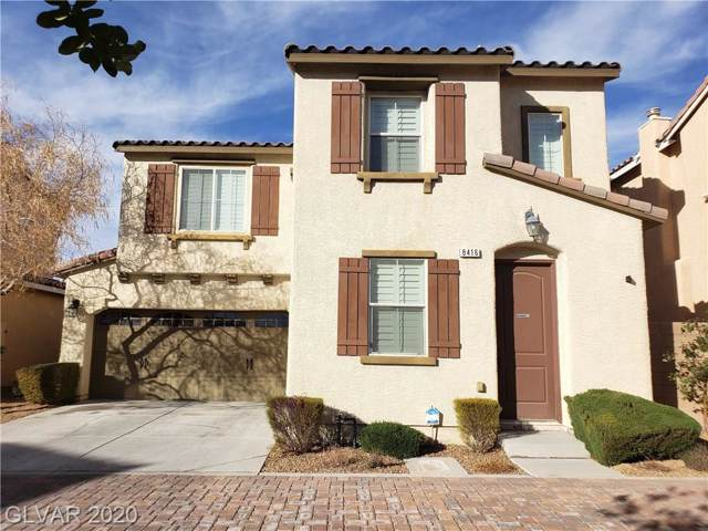8416 Lower Trailhead, Las Vegas, NV 89113 (MLS #2168931) :: Vestuto Realty Group