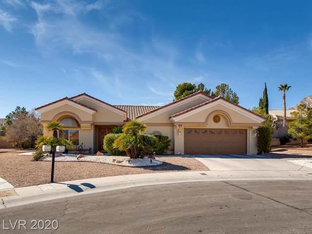3025 Crib Point Drive, Las Vegas, NV 89134 (MLS #2169061) :: Signature Real Estate Group