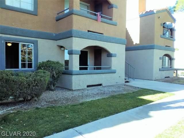 220 Mission Newport Lane #107, Las Vegas, NV 89107 (MLS #2169125) :: Billy OKeefe | Berkshire Hathaway HomeServices