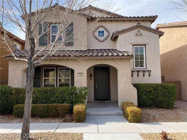 1863 Via Delle Arti, Henderson, NV 89044 (MLS #2169198) :: Signature Real Estate Group