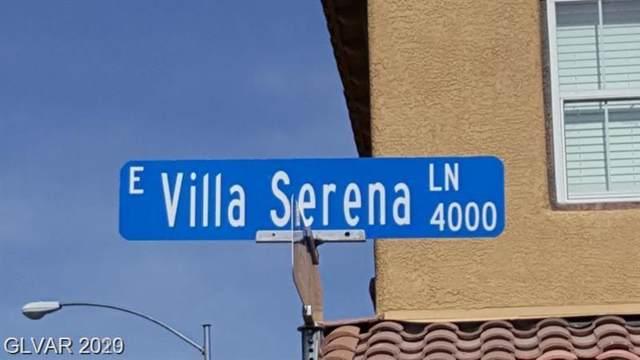 4017 Villa Serena, North Las Vegas, NV 89081 (MLS #2169334) :: Trish Nash Team