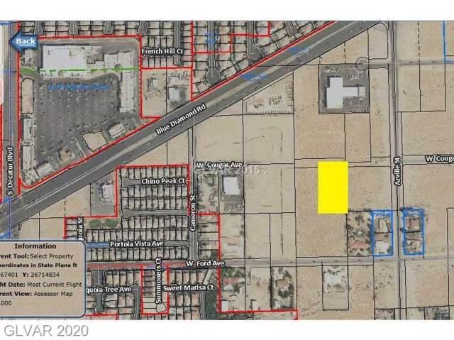 Cougar Avenue, Las Vegas, NV 89139 (MLS #2170433) :: The Lindstrom Group