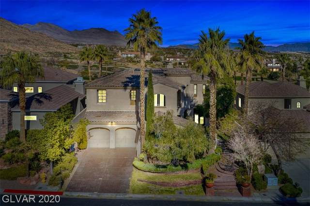 11630 Evergreen Creek, Las Vegas, NV 89135 (MLS #2170805) :: Trish Nash Team