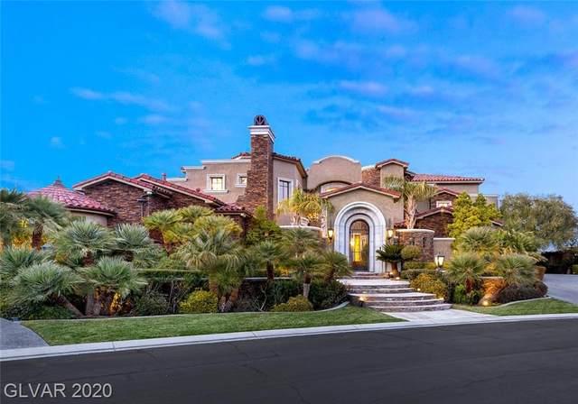 42 Olympia Hills Circle, Las Vegas, NV 89141 (MLS #2171627) :: The Lindstrom Group
