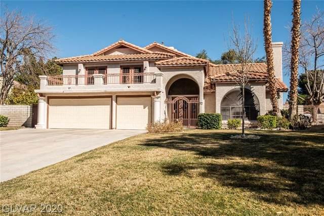 17 Pheasant Ridge Drive, Henderson, NV 89014 (MLS #2171746) :: Signature Real Estate Group