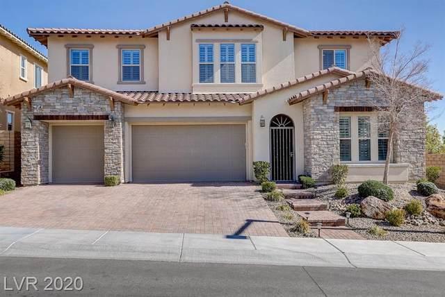 446 Paso De Montana, Las Vegas, NV 89138 (MLS #2173859) :: Trish Nash Team